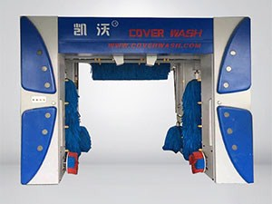 7-brush Rollover Car wash Machine